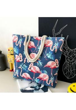 Dámska plážová taška s potlačou