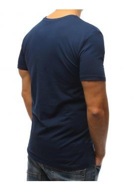 Športové pánske tričko sivej farby s potlačou
