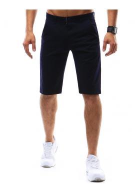 Hnedé elegantné krátke nohavice pre pánov