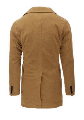 Dvojradový pánsky kabát v hnedej farbe na zimu Dvojradový pánsky kabát v  hnedej farbe na. 599f3c21cb8
