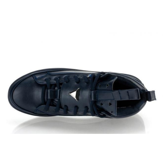 Pánske členkové Sneakersy v tmavomodrej farbe