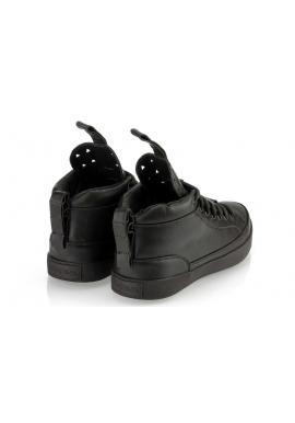 Tmavosivé pánske členkové Sneakersy