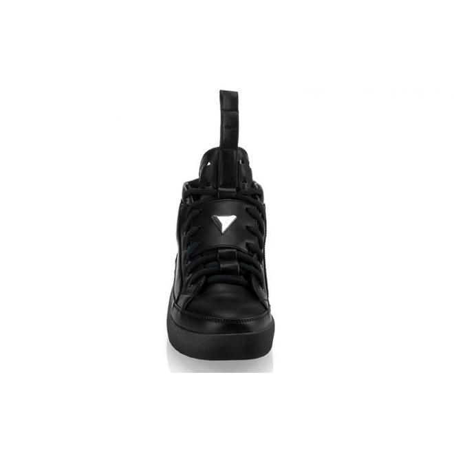 Čierne pánske členkové Sneakersy