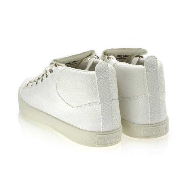 Pánske biele Sneakersy so šnúrovaním