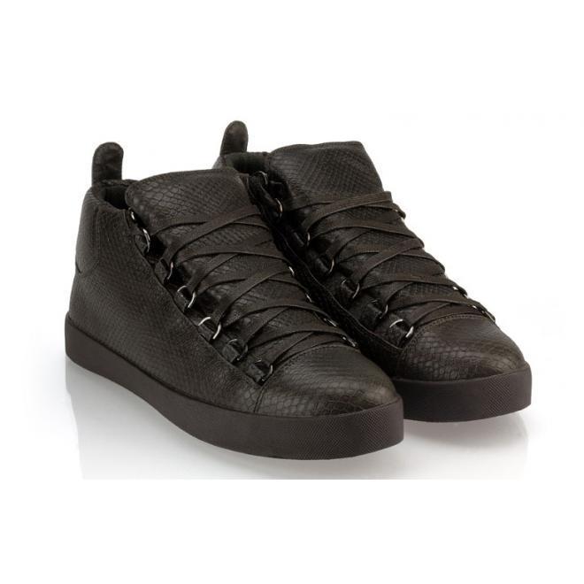 Pánske tmavosivé Sneakersy so šnúrovaním