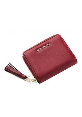 Zelená štýlová peňaženka pre dámy