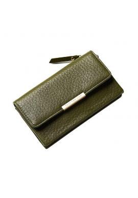 Sivá elegantná peňaženka pre dámy