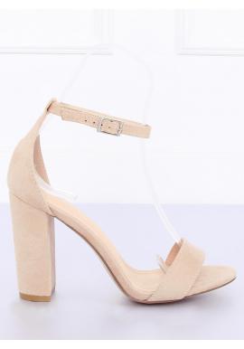 cb6892379dbd Dámske semišové sandále na stabilnom podpätku v zelenej farbe ...