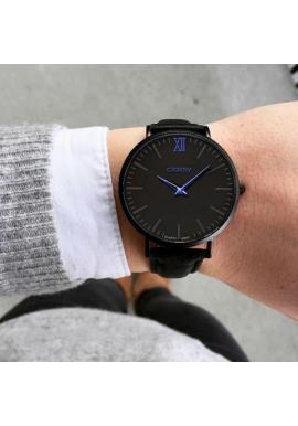 Módne dámske hodinky ružovej farby s čiernym ciferníkom