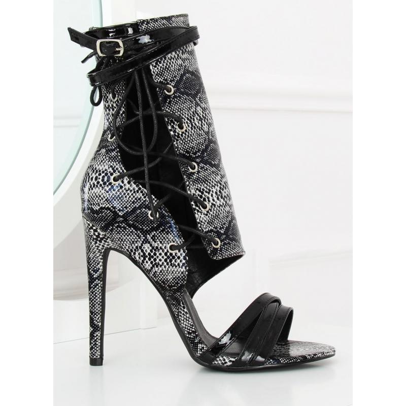 08c7d96c4dae Semišové dámske topánky ružovej farby na podpätku s otvorenou špičkou