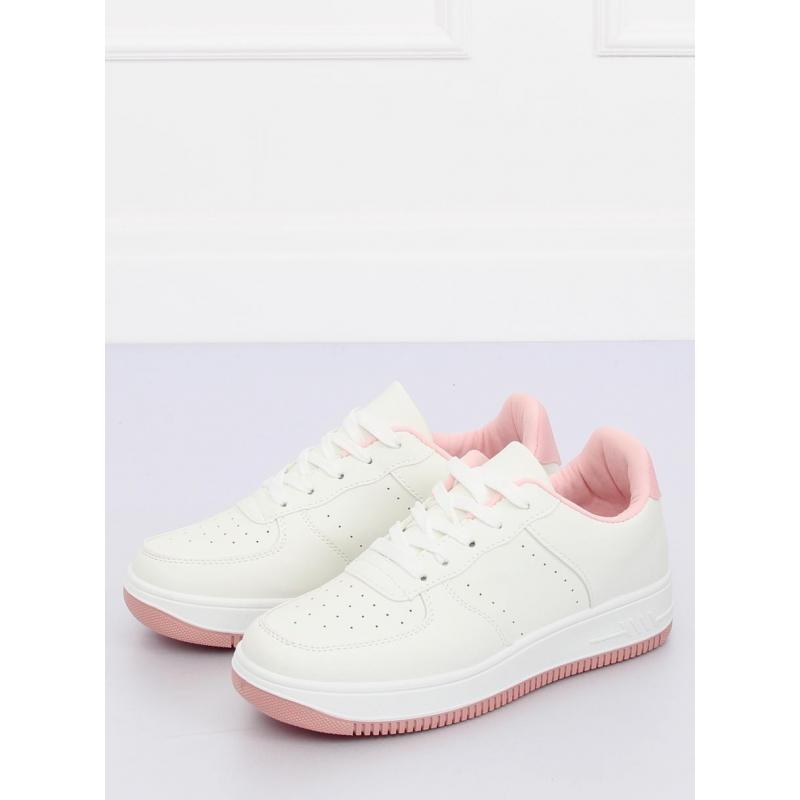a444e4c9cf Bielo-ružové športové tenisky pre dámy - skvelamoda.sk