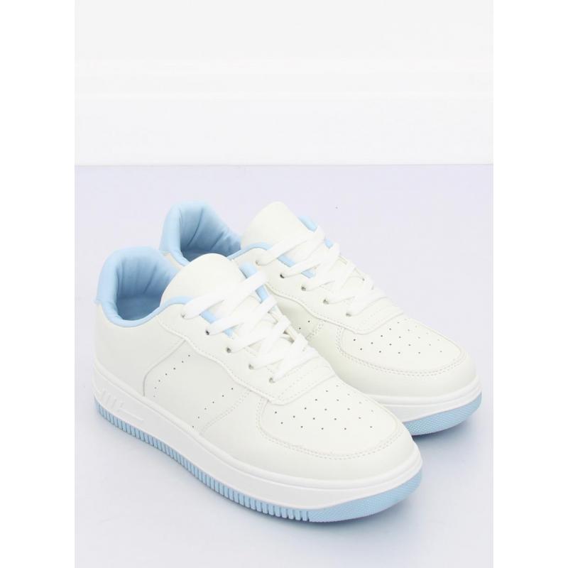 a3d5b8a17a48a Dámske športové tenisky v bielo-modrej farbe - skvelamoda.sk