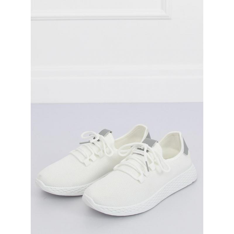 8de16492c5 Športové dámske tenisky bielo-sivej farby. Dámske športové tenisky v  čiernej farbe