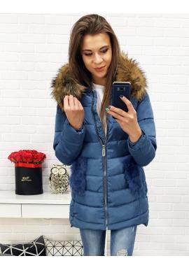 22371c6a1 Dámska zimná bunda s odopínateľnou kožušinou v čiernej farbe ...