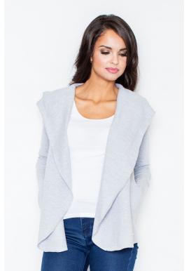 Ružový bavlnený sveter s kapucňou pre dámy ... 1ffe5db7e6
