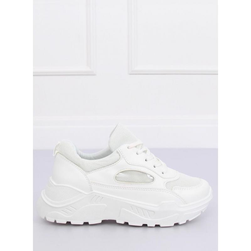990d7c0991ed Biele módne tenisky s vysokou podrážkou pre dámy - skvelamoda.sk