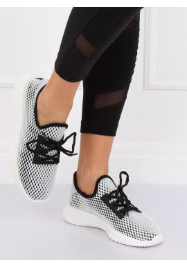 Módne dámske tenisky čiernej farby so sieťkou Módne dámske tenisky čiernej  farby so sieťkou 4a0b4cb7042