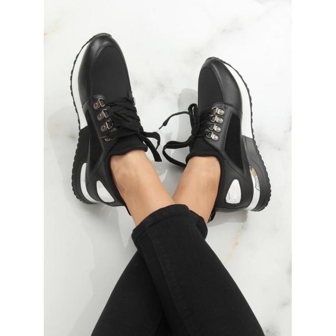 Čierne módne tenisky pre dámy v zľave - skvelamoda.sk 48e0734b08d