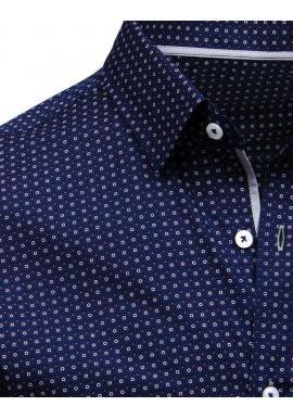 Elegantná pánska košeľa bielej farby so vzorom