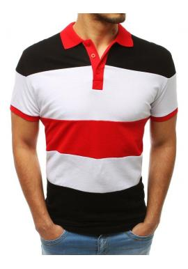 35fdda5ca564 Modro-červená štýlová polokošeľa pre pánov ...
