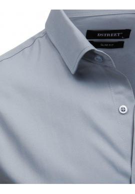 c8a685837b84 ... Pánska elegantná košeľa s dlhým rukávom v bielej farbe