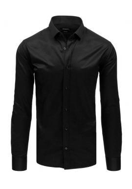 Elegantná pánska košeľa sivej farby s dlhým rukávom