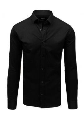 Pánska elegantná košeľa s dlhým rukávom v svetlomodrej farbe