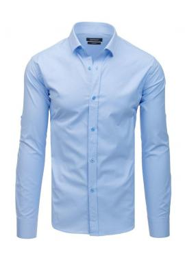 Elegantná pánska košeľa bordovej farby s dlhým rukávom