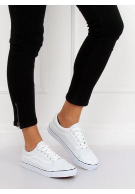 Pohodlné dámske tenisky čiernej farby