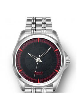 Pánske hodinky Naviforce s čiernym ciferníkom v striebornej farbe