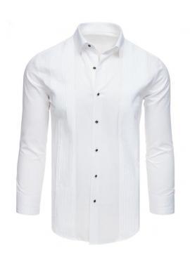 Pánska elegantná košeľa s dlhým rukávom v čiernej farbe