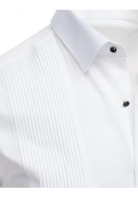 e4c5c6a3fc30 ... Pánska elegantná košeľa s dlhým rukávom v čiernej farbe