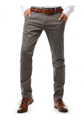 Béžové elegantné nohavice Chinos pre pánov