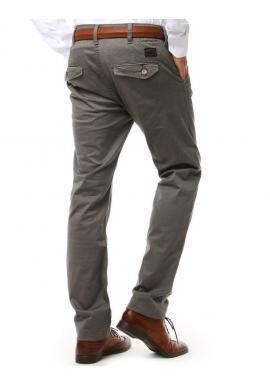 Svetlobéžové elegantné nohavice Chinos pre pánov