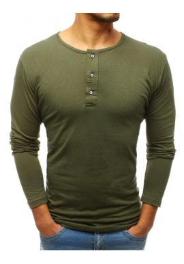 0646d43a2 Čierne klasické tričko s dlhým rukávom pre pánov - skvelamoda.sk