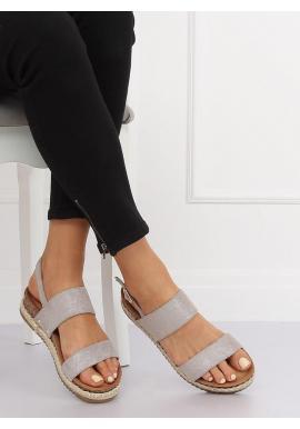 05aeae5a93fa ... Dámske semišové sandále na korkovej podrážke v čiernej farbe