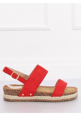 fd11ace6423a Dámske semišové sandále na korkovej podrážke v čiernej farbe ...