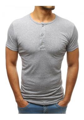 685e0a7ba019 Bavlnené pánske tričko bielej farby s gombíkmi ...