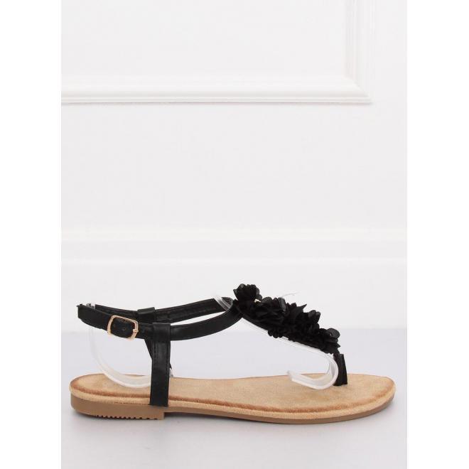Dámske semišové sandále na korkovej podrážke v červenej farbe