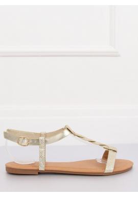6a011e4affae Štýlové dámske sandále čiernej farby s motívom hadej kože ...