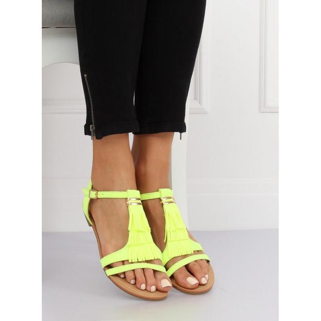 Čierne semišové sandále so strapcami pre dámy