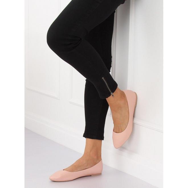 Čierne klasické balerínky pre dámy