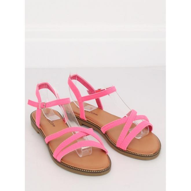 Čierne semišové sandále pre dámy