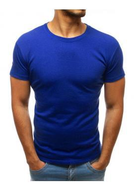 Tričká pre pánov v tmavomodrej farbe s okrúhlym výstrihom