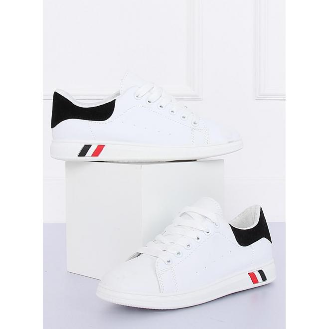 Bielo-sivé športové tenisky pre dámy