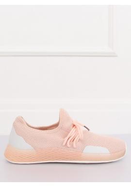 Ružové štýlové tenisky s kontrastnými prvkami pre dámy