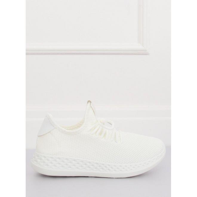 Dámske športové tenisky v bielej farbe