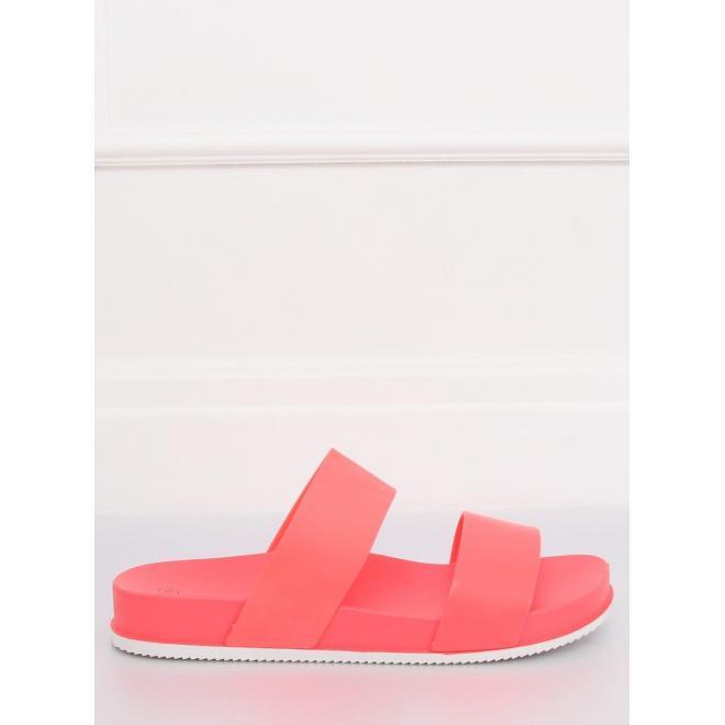 Ružové gumené šľapky s potlačou jednorožcov pre dámy