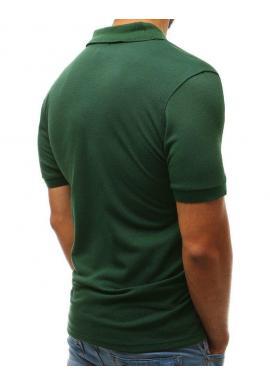 Klasická polokošeľa zelenej farby