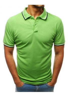 Zelená módna polokošeľa pre pánov